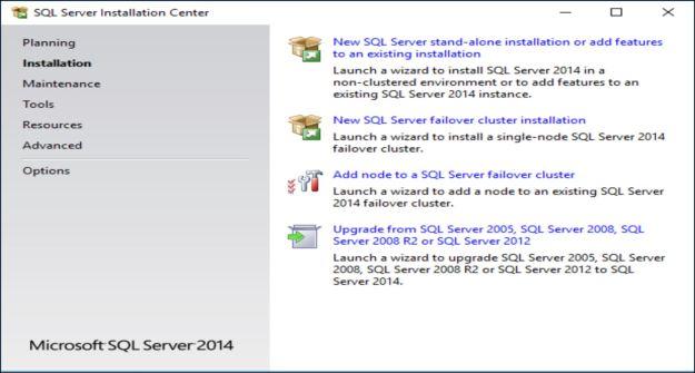 InstallationSQLServer
