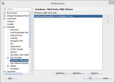 Oracle SQL Developer configured for Microsoft SQL Server | Smart way