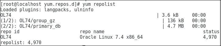 Configure yum manually on Oracle Linux Platform from Media