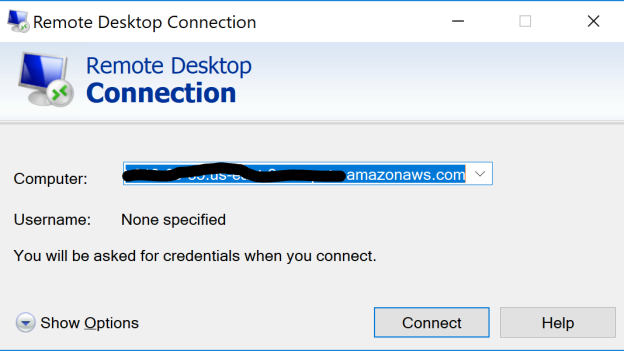 connectwithRDP