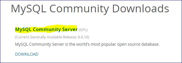 Download MySQL2