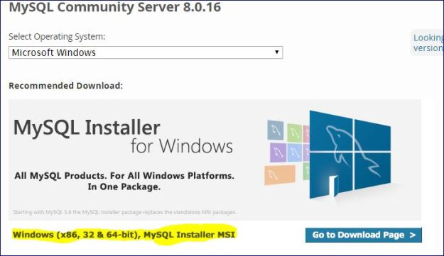 Download MySQL Community edition for Windows Platform | Smart way of